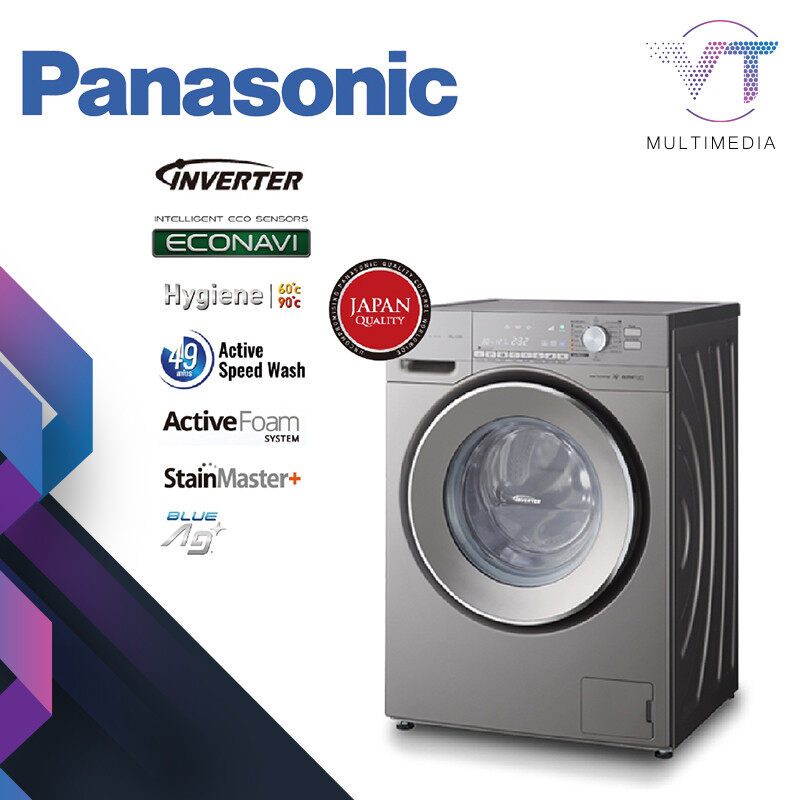 PANASONIC NA-120VX6LMY 10KG Front Load Washing Machine