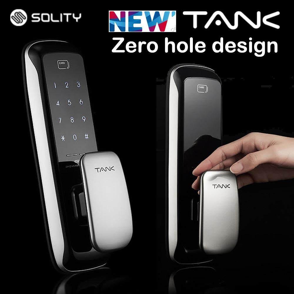 SOLITY Huigang Korea Tank Digital Door Lock SP301 / 4 Card Keys