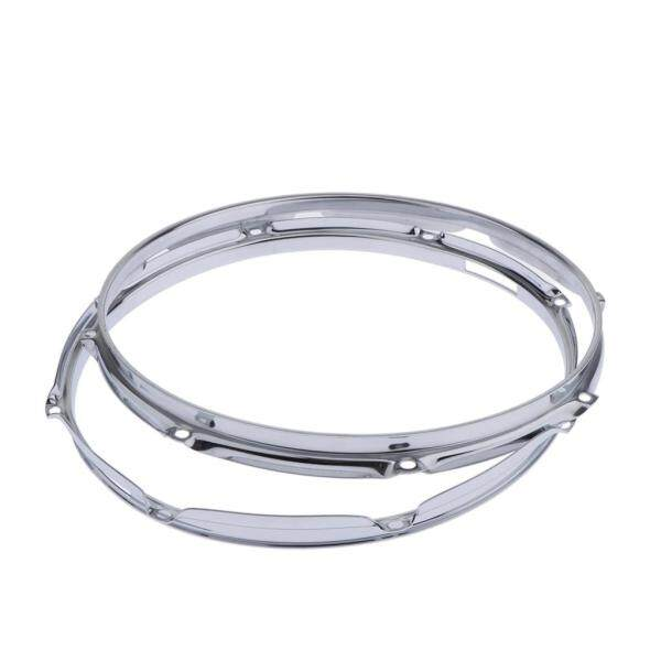 Gazechimp Cặp Die-Cast 8-Lug Snare Drum Hoop-Mặt Đập-Hợp Kim Kẽm-13 Inch 1.5Mm