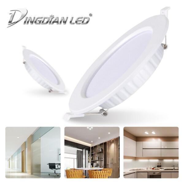 Đèn Pin LED Siêu Mỏng 12W 20W Cho Phòng Đèn Chiếu Điểm Trình Điều Khiển Tích Hợp Trắng Lạnh (6500K), Trắng Ấm (3000K) Đèn Âm Trần Cho Phòng Ngủ Phòng Khách Nhà Bếp