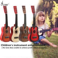 Đàn Ghi-ta Âm Thanh Bass 25 Inch Với Dây Chọn Đồ Chơi Guitar Cho Trẻ Em Và Người Mới Bắt Đầu