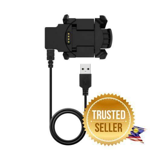 USB Charging Data Cable Charger Dock for Garmin Fenix 3 HR/ Fenix 3/ Quatix 3 (BLACK) Malaysia