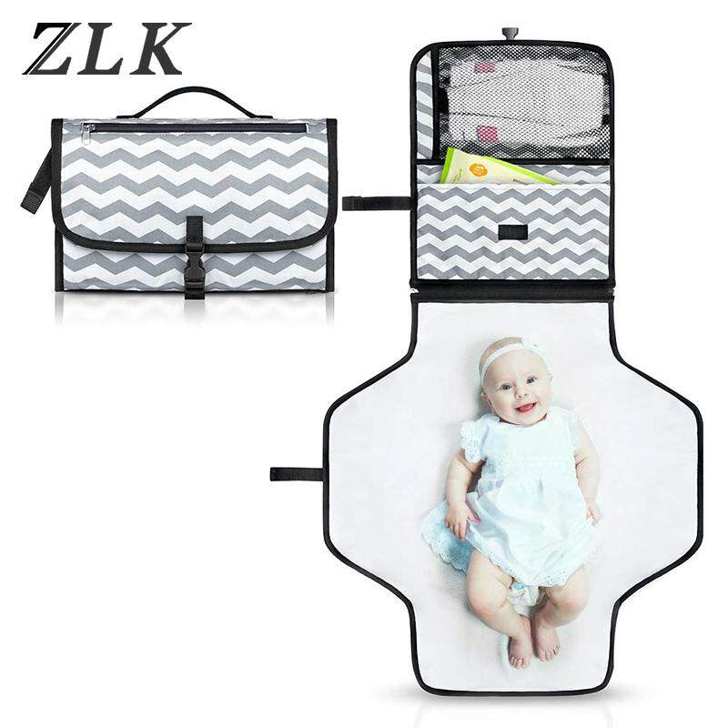 Waterproof /& Durable Baby Changing Mat for Diaper Changing Lightweight Portable Baby Changing Pad