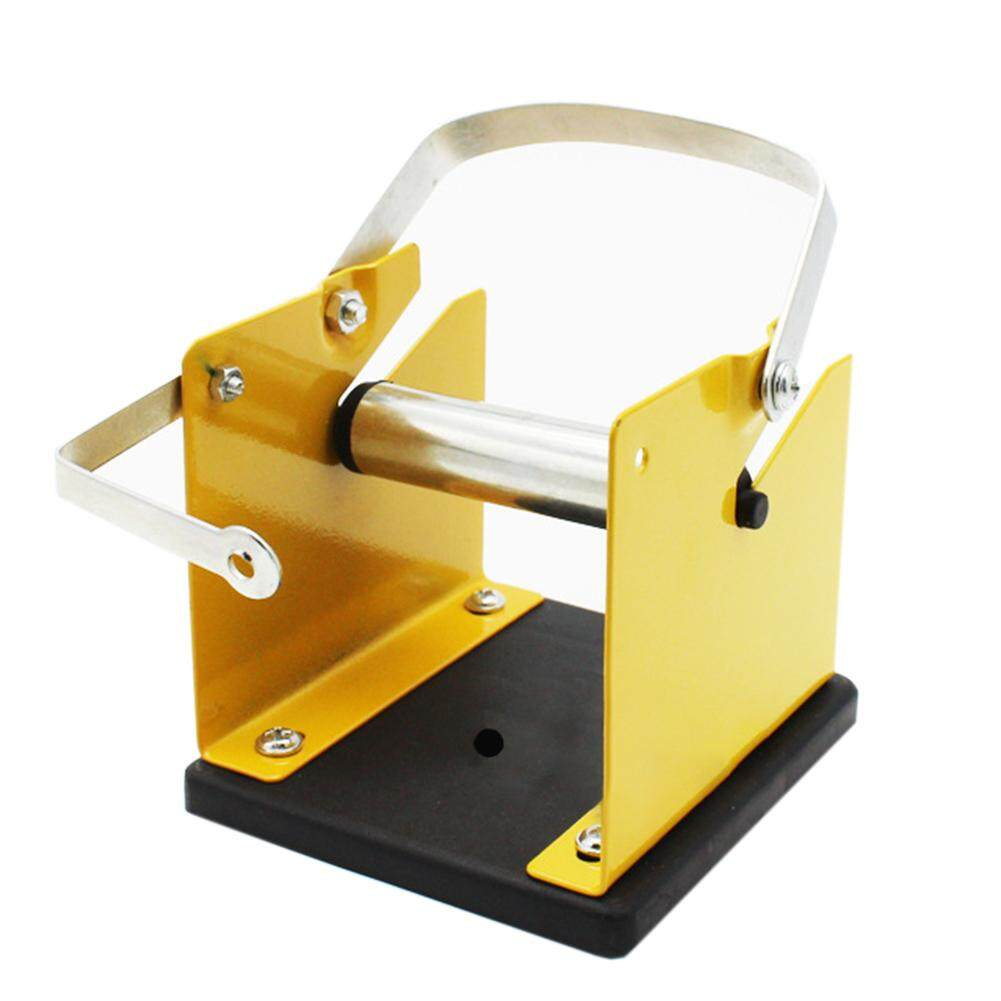 Solder Wire Holder Easy Operate Welding Tool Reel Dispenser Professional Portable Adjustable Spool Feeder Stand Support Mini Tin Manage Iron Structure Efficient