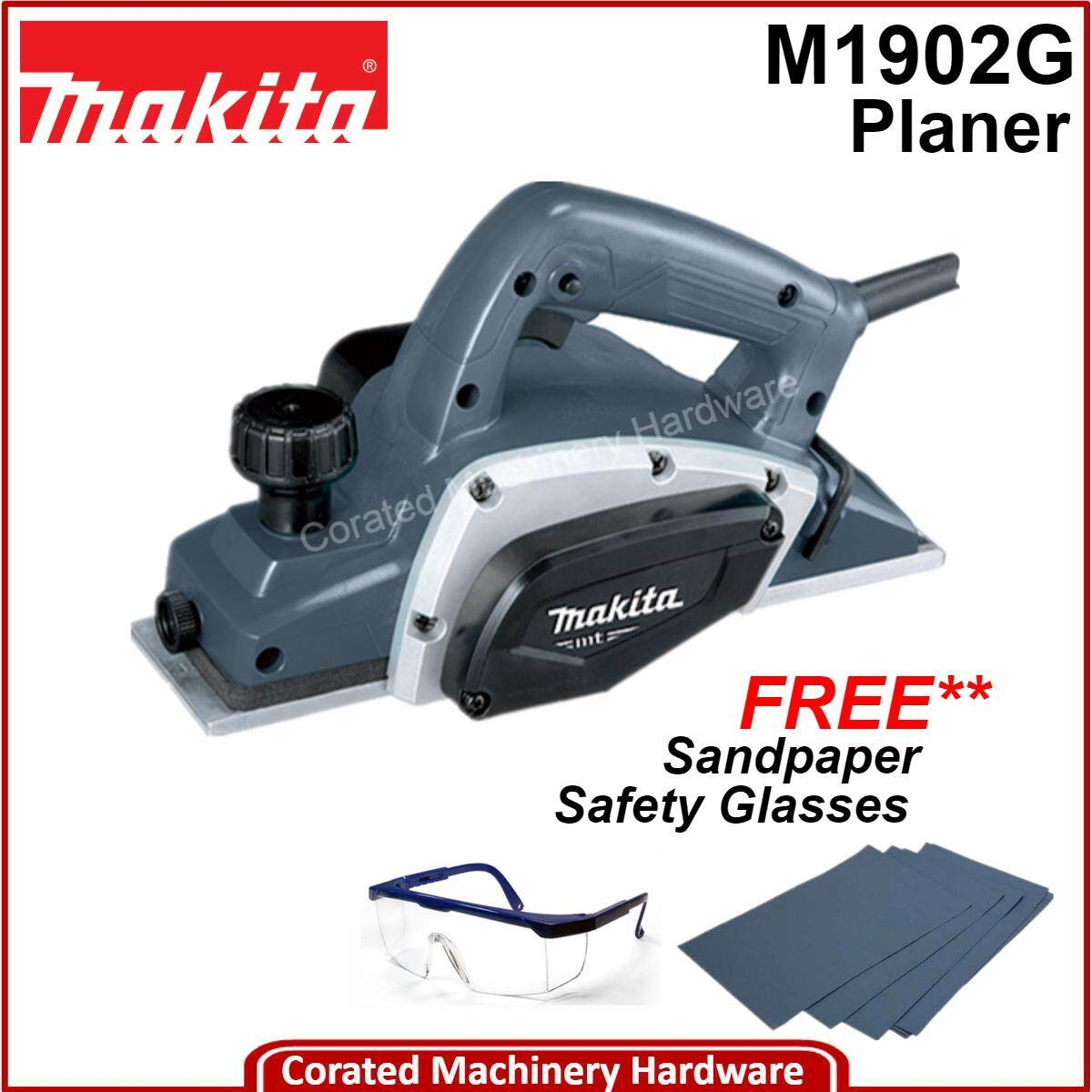 [CORATED] Makita M1902G 82MM (3-1/4 ) Planer ( 12 Month Warranty)