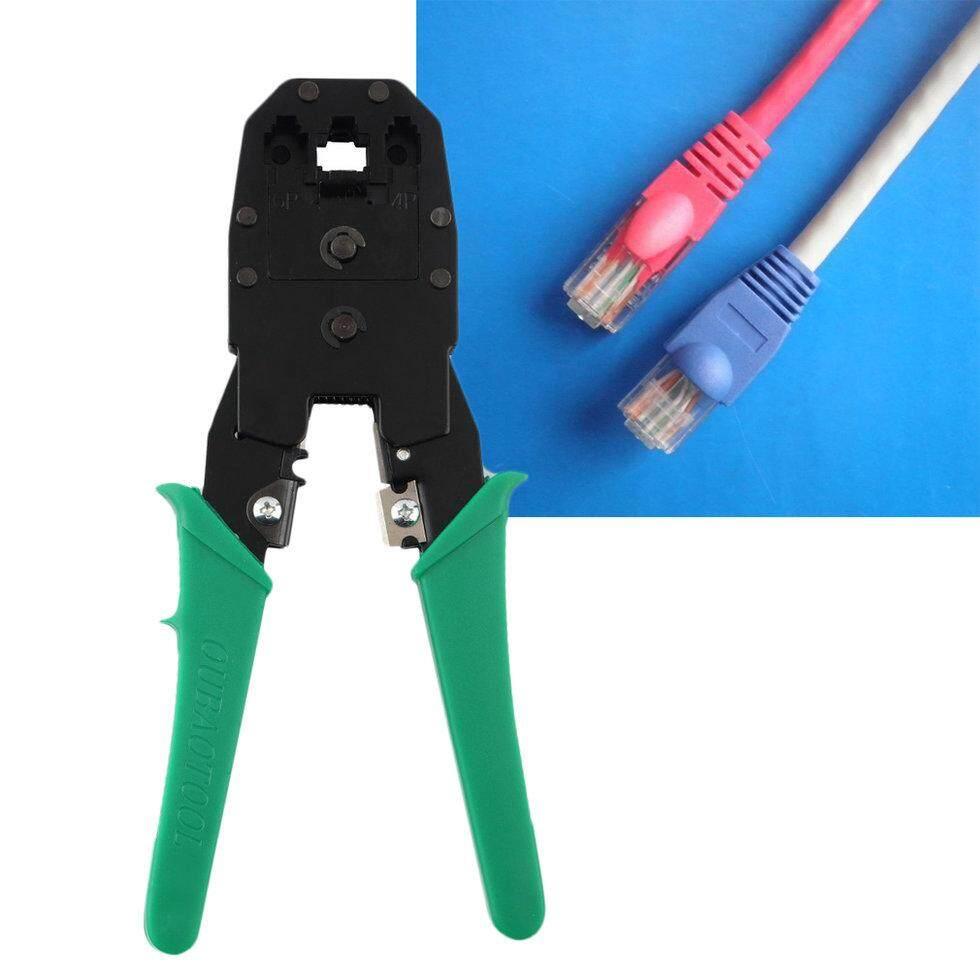 GOFT Cable Tester + Crimp Crimper + 100 RJ45 CAT5 CAT5e Connector Plug Network Tool Malaysia