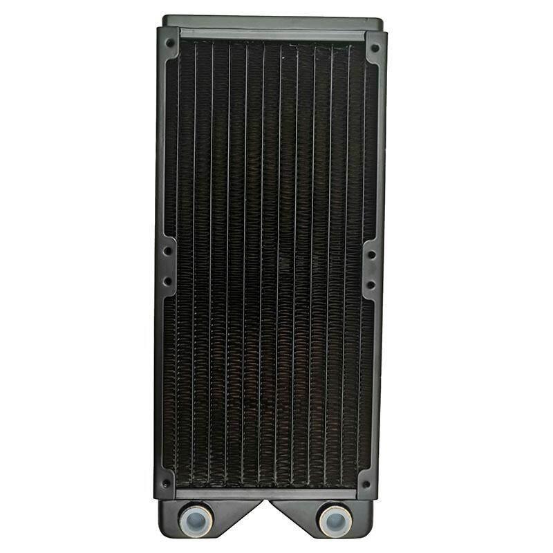 Giá Magicool G1/4 inch 240MM 3 Black Copper Radiator Computer Water Cooling Heatsink Fit 12Cm Fan 27Mm Thick M3 Screws
