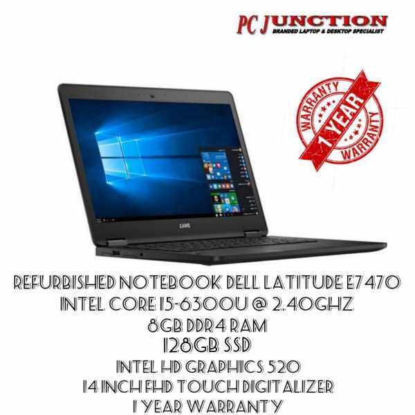 Refurbished Dell Latitude E7470 Notebook Malaysia