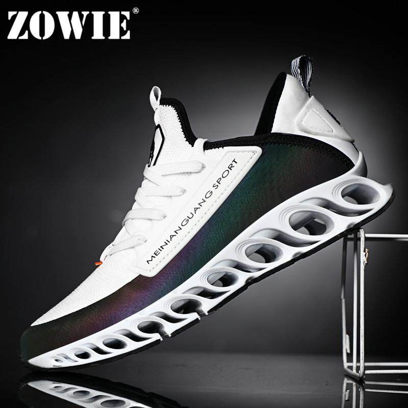 7bf5e1e23af79 ZOWIE Men s Sneakers Outdoor Sports Shoes Super Breathable Reflective  Fashion Boutique Net Cloth Shoes 2019 New