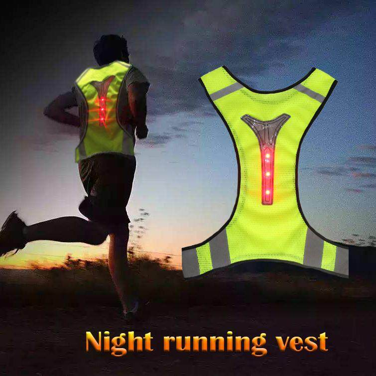 Bicycle Light Back To Search Resultssports & Entertainment Strong-Willed Reflective Safety Vest With Led Signals Reflective Safety Vest With Led Signals Selling Well All Over The World