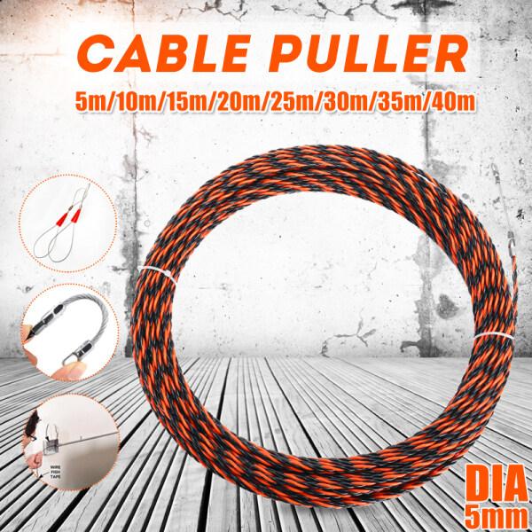 Bảng giá Cuộn cáp kéo sợi thủy tinh nylon cao cấp dành cho thợ điện chiều dài 5/10/15/20/25/30/35/40M - INTL