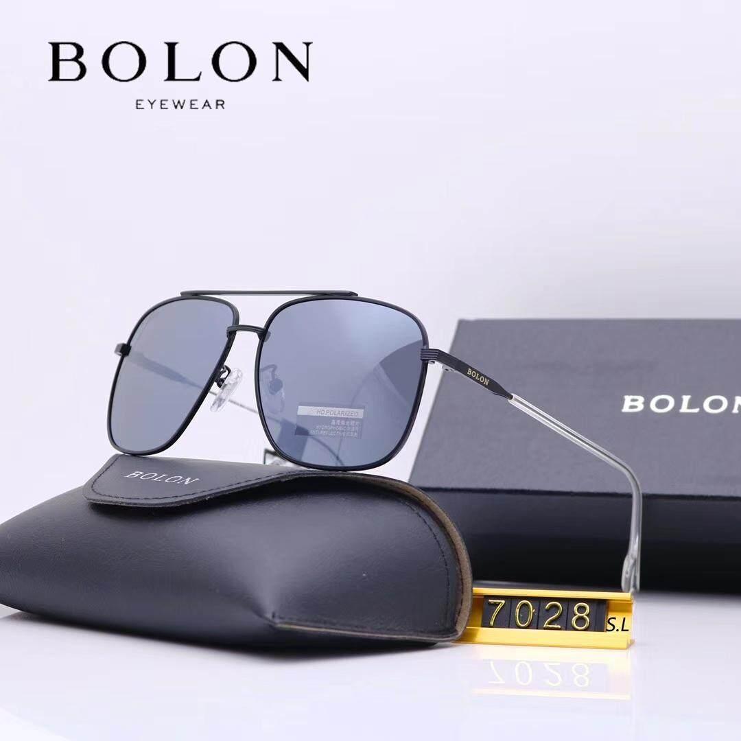 ff1e8576d Bolon New Square Polarized Sunglasses Men'S Frog Mirror Driving Sunglasses  Glasses BL7028