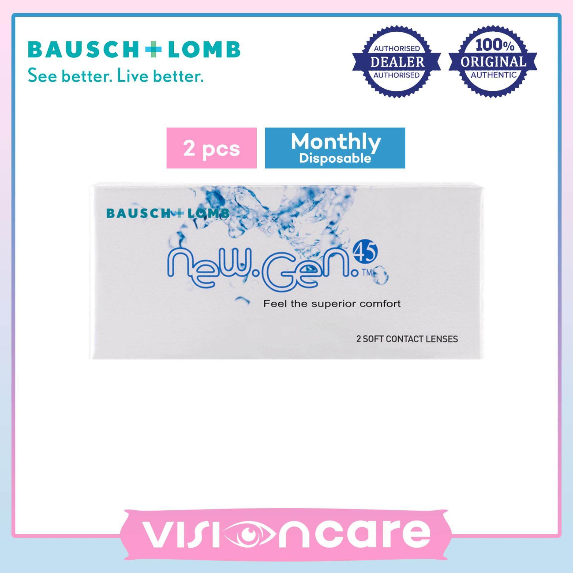 Bausch & Lomb New Gen 45 Monthly Contact Lenses