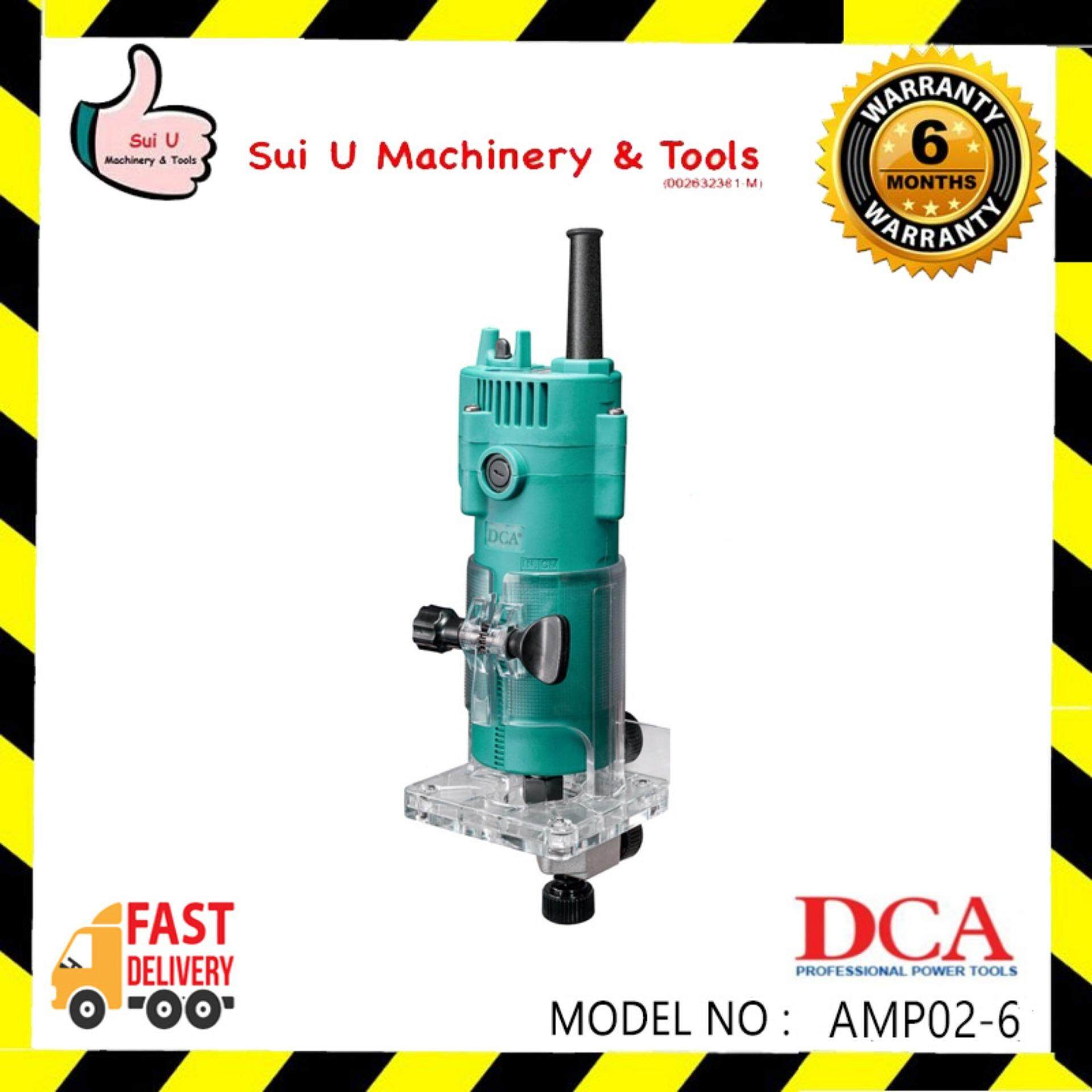 DCA AMP02-6 Trimmer Router 350w