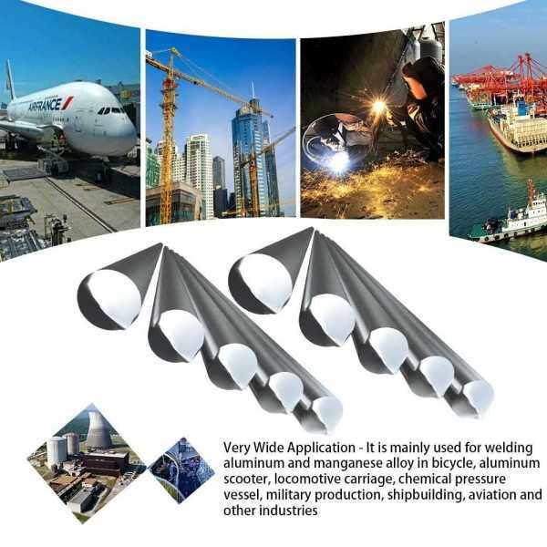 10PCS Low Temperature Aluminum Welding Wire Flux Cored 2.4mm*230mm Al-Mg Soldering Rod No Need Solder Powder (2)