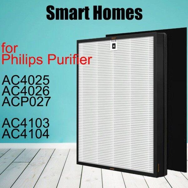 Bảng giá Lọc Kit , AC4104 + AC4103 Đối Với Philips AC4025 AC4026 ACP027