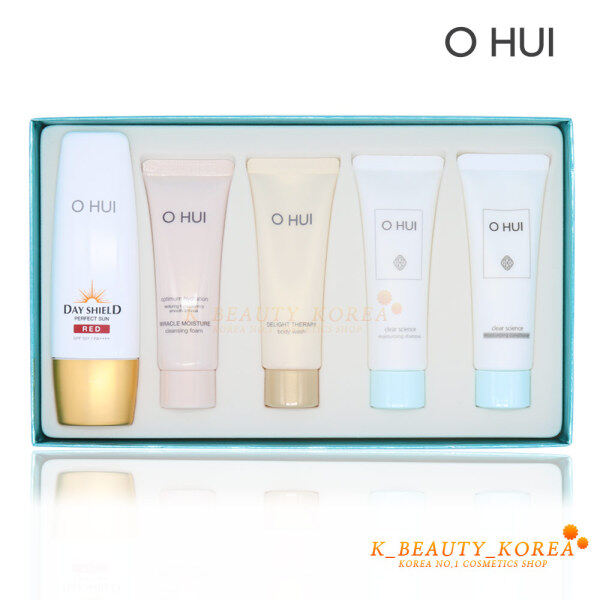 Buy [OHUI] Day Shield Perfect Sun Red Special Set Singapore