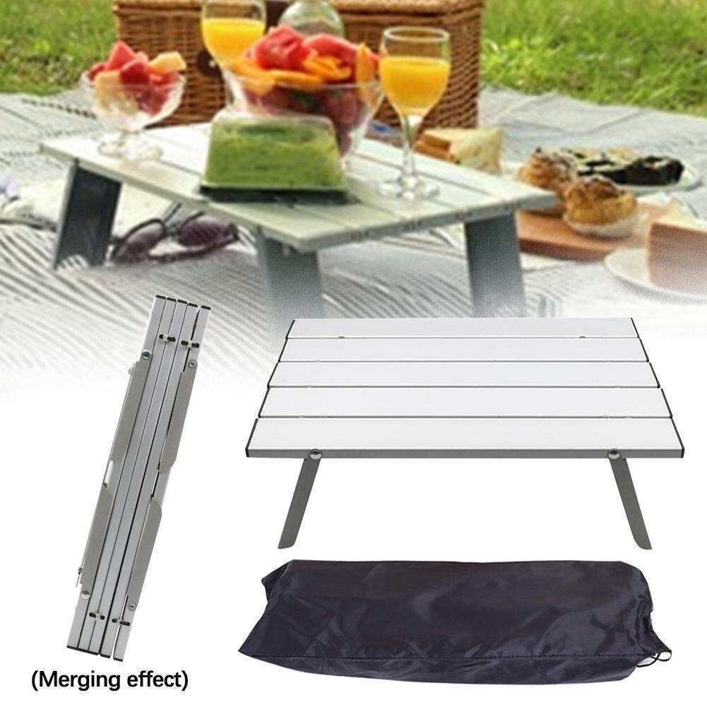 Travel Portable Save Space Picnic Home Outdoor Furniture Foldable Practical Aluminum Alloy Easy Installation Camping Tables