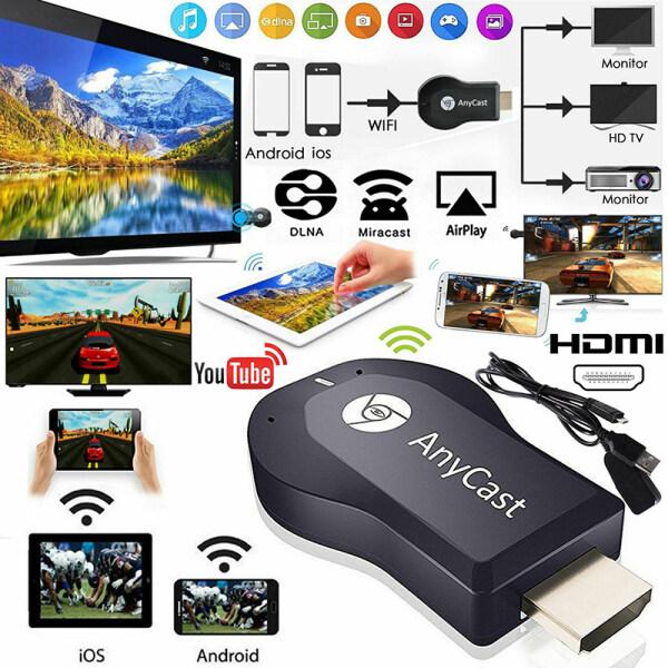 HAHA AnyCast M12 Plus Bộ Thu WiFi Màn Hình Airplay Miracast HDMI TV DLNA 1080P