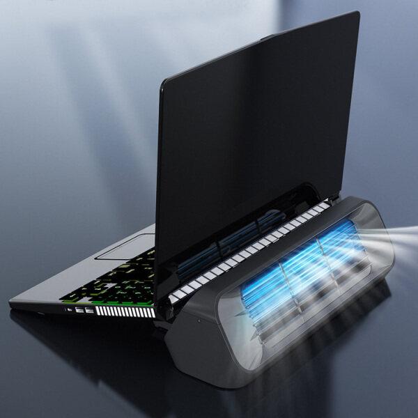 Notebook Cooler Laptop Cooling Pad Stand Speed Gaming Laptop/Tablet/Phone Cooler Pad Holder Desk Fan Turbo