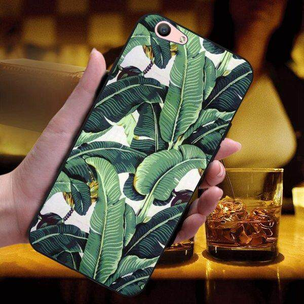Plantain Soft Silicon Phone Back Case Cover For OPPO A59/F1S