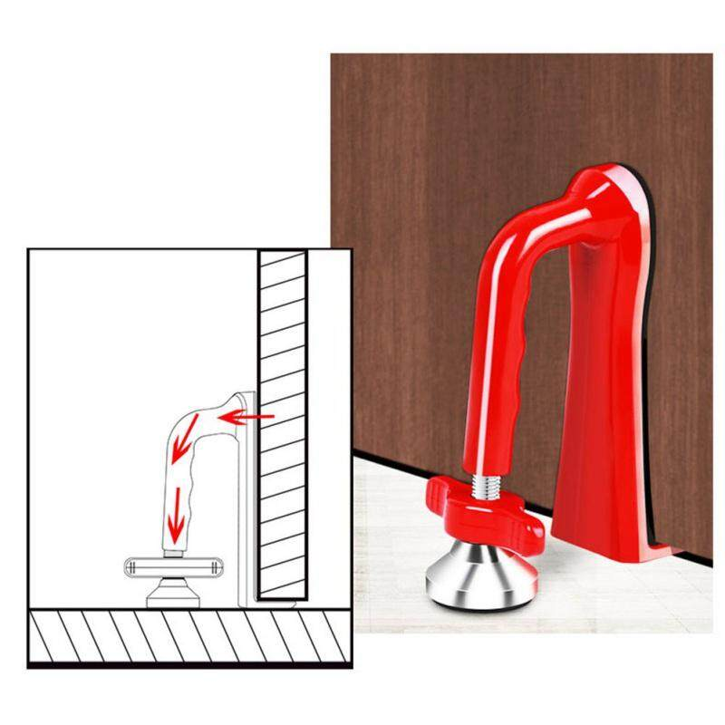 Effective Door Closer Jammer Lockdown Lock-Security Device for Travel Hotel Door