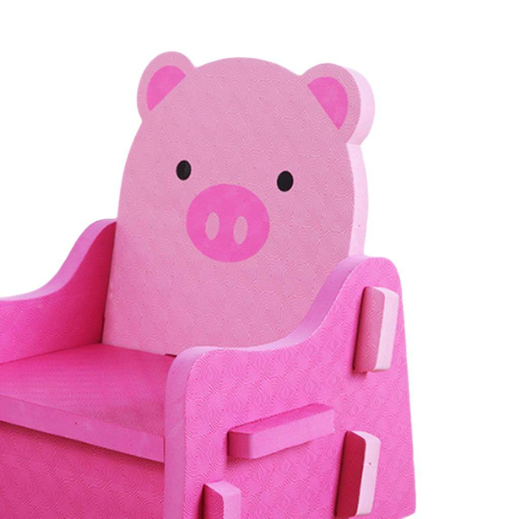 Fityle Non Toxic PE Foam Kids DIY Chair Pretend Play Chairs Stool Puzzle Chairs 3 Styles