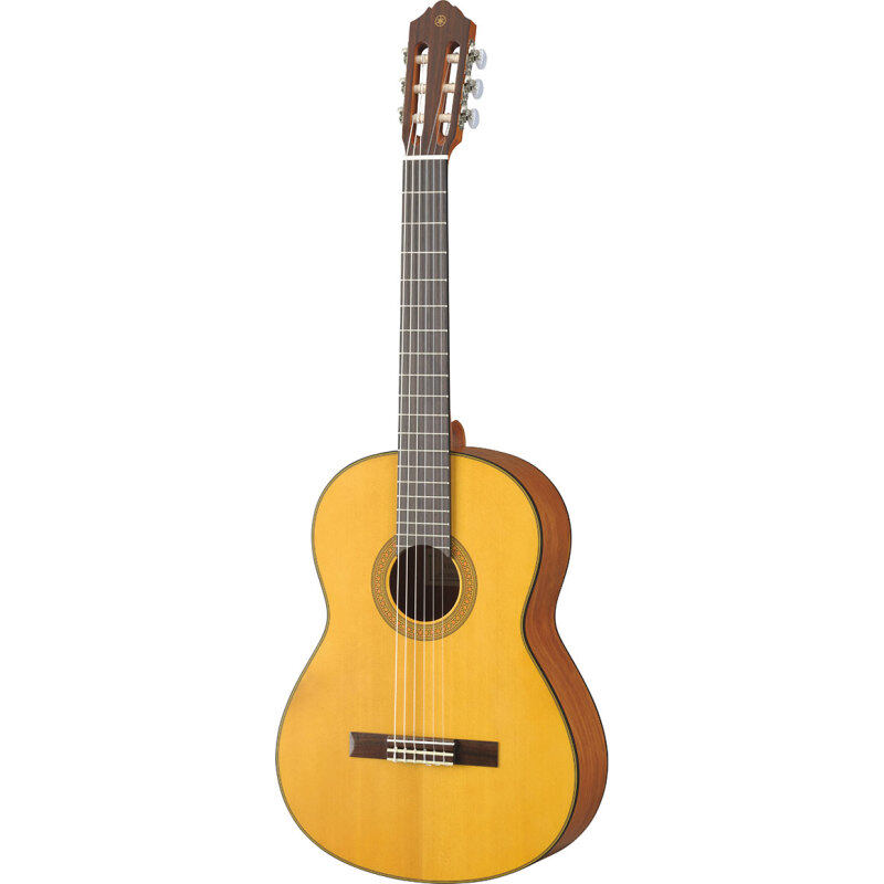 """YAMAHA CG-122-MS 40"""" Solid Spruce Top Full Size Classical Guitar (CG122MS) Malaysia"""