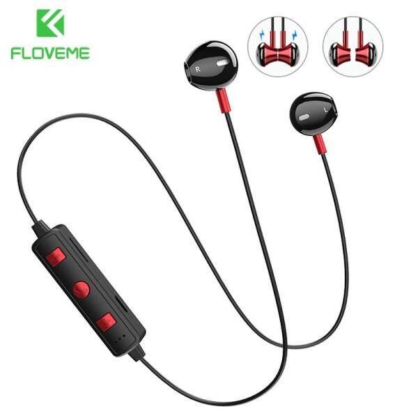 Giá FLOVEME B11 Tai Nghe Không Dây Nam Châm Bluetooth Stereo Tai Nghe Nhét Tai có Tích hợp Mic Cho iPhone Xiaomi Tất Cả Các Điện Thoại Thông Minh