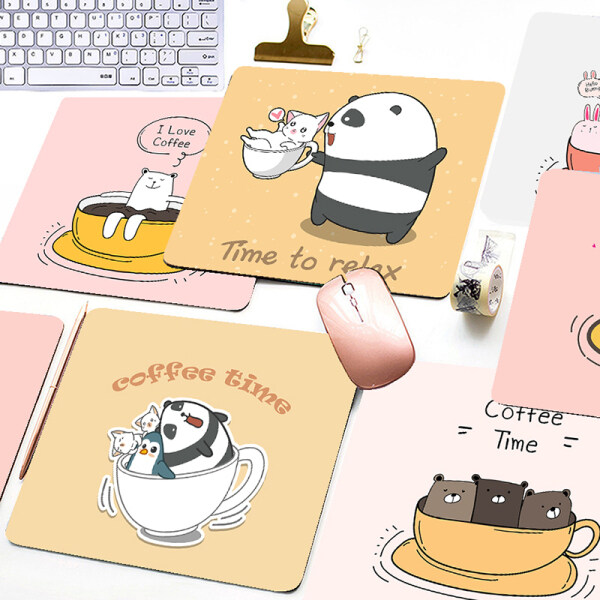 Cartoon  Mouse Pad Cute Printed  Game Office Home Multimedia Computer Keyboard Non-slip Mouse Pad Malaysia