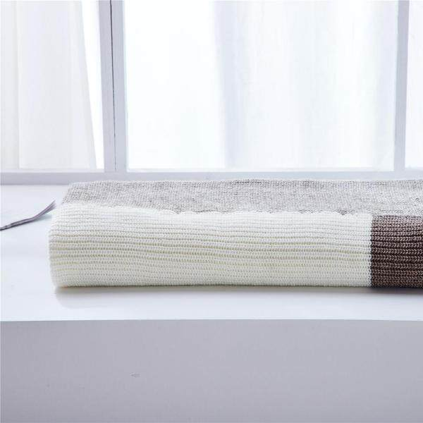 INS wind new home office wool knit sofa blanket