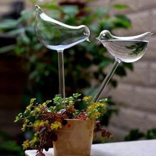 Đinh Làm Vườn, Thiết Bị Tưới Cây, Bộ Thủy Tinh Thiên Nga Ốc Sên Hình Chim Dễ Thương Tự Động Trong Nhà NGHỆ THUẬT Thiết Kế 2021 Mới Phổ Biến Đang Giảm Giá thumbnail