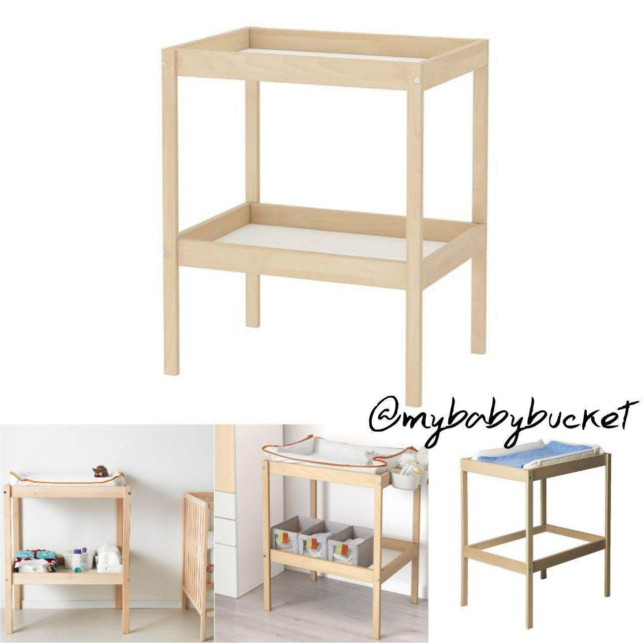 Picture of: Ikea Sniglar Baby Changing Table Set Lazada