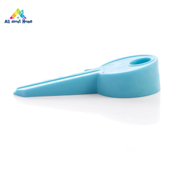 ABH Door Stopper Finger Protector Silicone Colorful Key Style Doorstop Secure Flexible