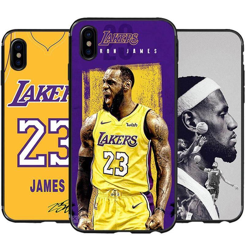 e99f99e81cb95 NBA James Case For iPhone 6S Case, iPhone 6 7 8 X XS Max XR Case Soft TPU  Slim Cover