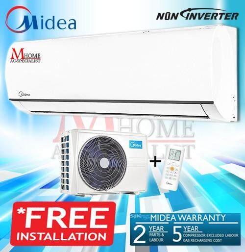 FREE INSTALL - MIDEA MSMA-12CRN1 1.5HP NON INVERTER AIR CONDITIONER
