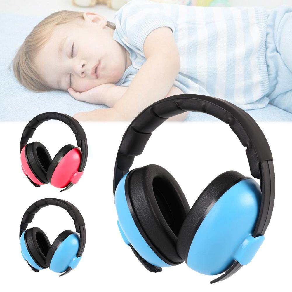 Adjustable Hearing Protection Earmuff (Ages 3-24+ Months) Hehong Baby Ear Defenders Child Noise Reduction Headphone Infant