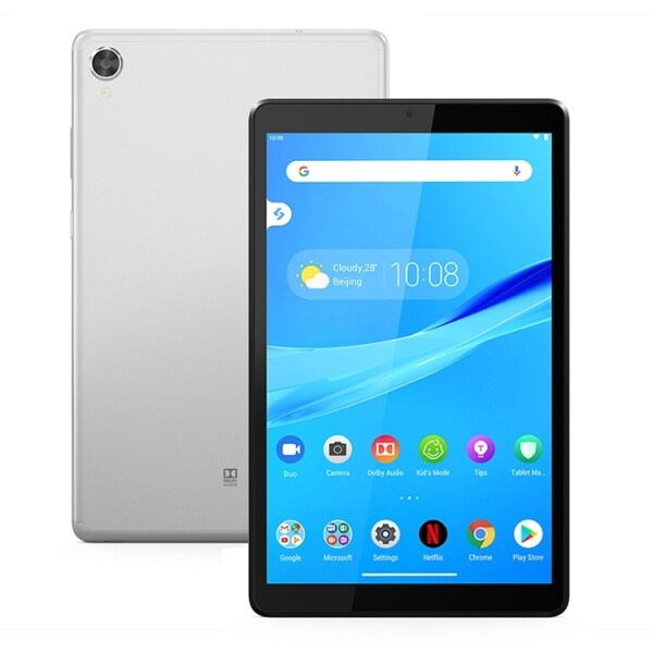 (with free gift case)Lenovo Tab M8 (FHD) TB-8705F, 8.0 inch,  4GB+64GB, Face Identification, Android 9.0 Helio P22T Octa Core up to 2.3GHz, Support Dual WiFi & Bluetooth & GPS & TF Card (good for online study and office work