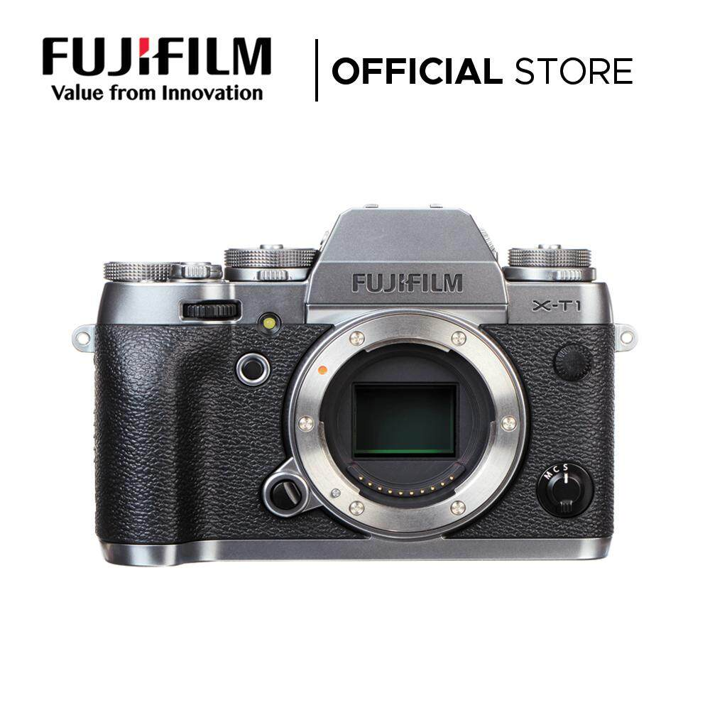 FUJIFILM X-T1 Mirrorless Digital Camera (Body - Graphite Silver)