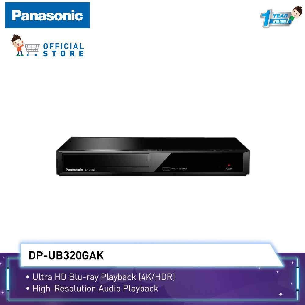 Panasonic (4K/HDR) 3D Blu-ray Disc™ DVD Player DP-UB320