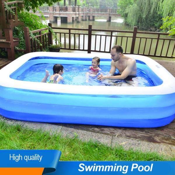 Bể Bơi Bơm Hơi Cho Trẻ Em Hộ Gia Đình Đồ Trẻ Em Nhà Banh Dày Chịu Lực