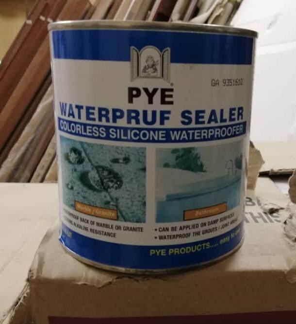 [1 LITER] PYE WaterPruf Sealer