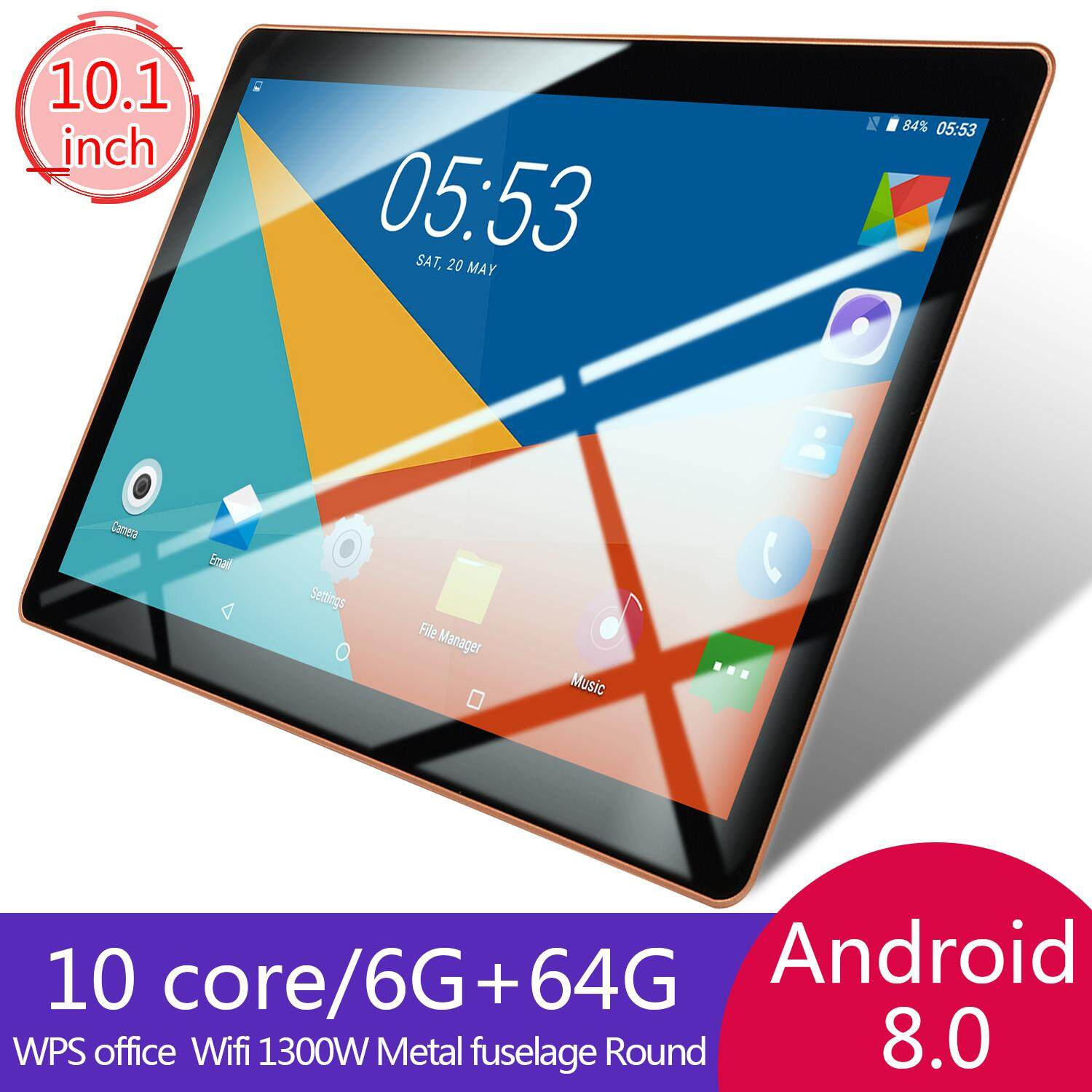 Game Tablet Computer PC Ten Core Android 8 0 GPS 3G Wifi Dual Camera 10 1  Inch