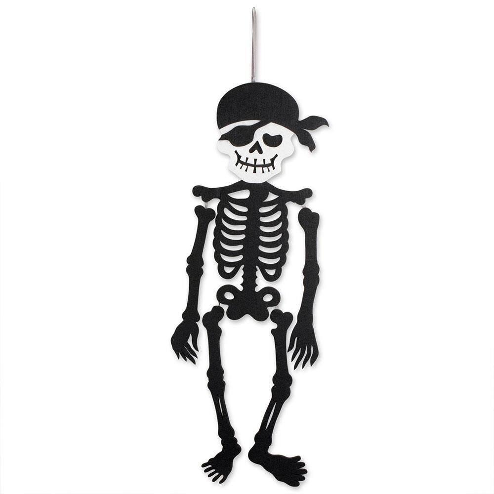 Trang Trí Halloween Cửa Treo Halloween Vật Trang Trí Sinh Động Ma Quái Không Dệt Vải Trang Trí Ký