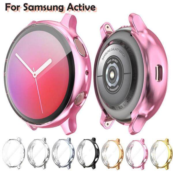 Screen Protector case for samsung galaxy watch active 2 Ultra-thin Soft silicone full Protection cover for Galaxy Active 40/44mm Malaysia