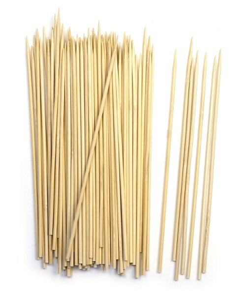 [Ready Stock] Bamboo Disposable Skewer 5/ 6/ 8/ 10/ 12 inch