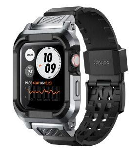 Clayco Vertex Series Tương Thích Với Apple Watch SE Series 6 5 4 44Mm Dây Đeo Kèm Dây Thay Thế thumbnail
