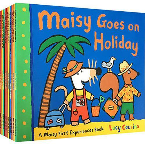 16 Books/set Maisy Series Eglish Picture Book for 2-5years Bed Time Story Books for Kids Preschool Education Books