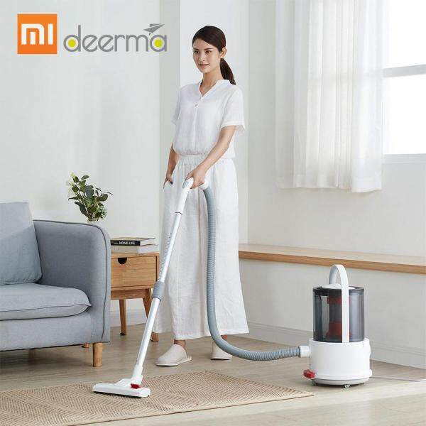 Xiaomi Deerma Vacuum Cleaner TJ200 Wet and Dry Multifunctional Bucket Vacuum Cleaner Household Floor Cleaner Dust Collector with Floor Brush 18000Pa Strong Suction Singapore