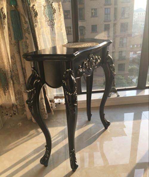 Console Table European Style in the Living Room Bedroom 60/70/80cm 4 Colours Available by Olive Al Home